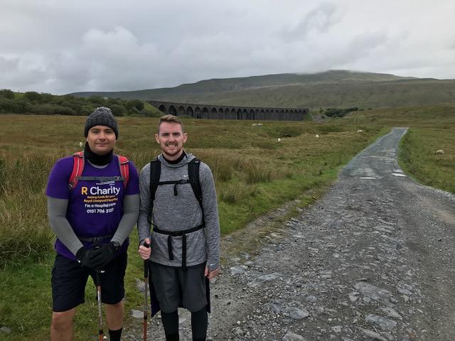 Charity hike